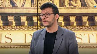 Mathieu Delahousse. (France 3)
