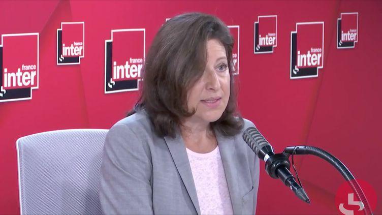 Agnès Buzyn, sur France Inter le 28 mai 2020. (FRANCE INTER)