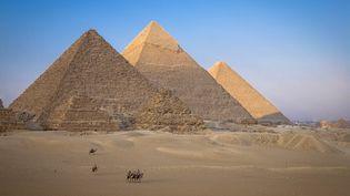 Les pyramides de Kheops, Kephren et Mikerinos sur le plateau de Guizeh. (JACQUES SIERPINSKI / JACQUES SIERPINSKI)