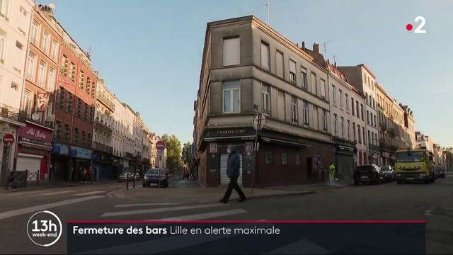 Covid-19 : les bars ferment à Lille