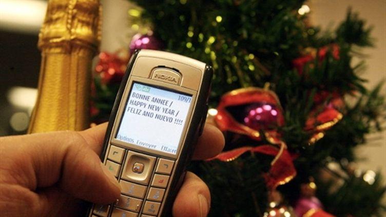 Un petit texto de bonne année ! (AFP Joel Saget)