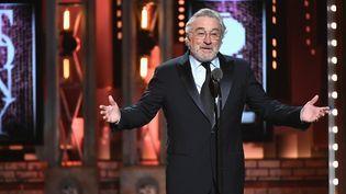 "Robert de Niro aux Tony Awards : ""Fuck Trump"" ! (10 juin 2018)  (Theo Wargo / Getty Images North America / AFP)"
