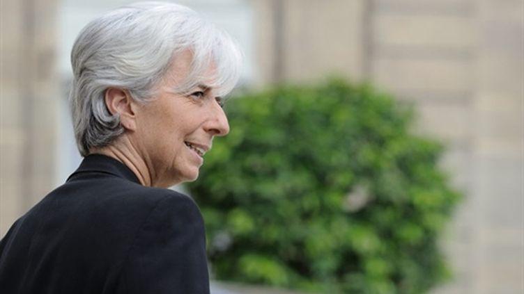La ministre de l'Economie, Christine Lagarde (28-7-2010) (AFP - ERIC FEFERBERG)