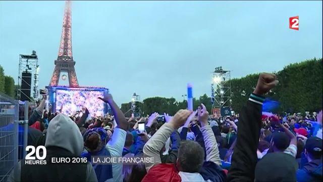 Victoire de la France contre l'Islande : la joie de tout un pays