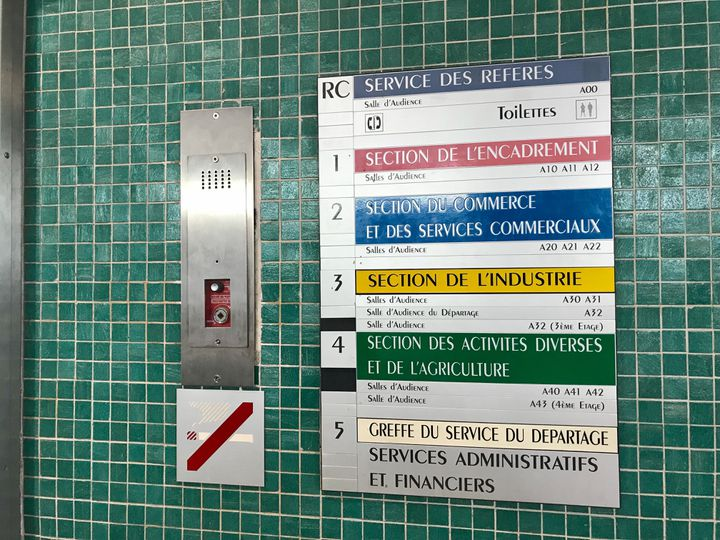 À l'intérieur du conseil de prud'hommes de Paris. (NOEMIE BONNIN / RADIO FRANCE)