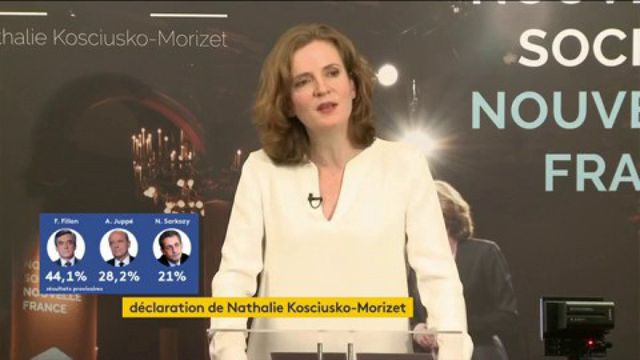 Nathalie Kosciusko-Morizet soutient Alain Juppé