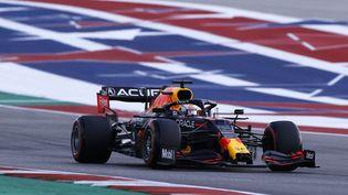 Max Verstappen aux essais libres du Grand Prix des Etats-Unis, samedi 23 octobre. (DPPI / DPPI)