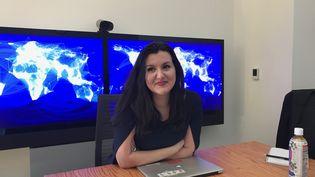 La Française Fidji Simo dirige l'activité vidéo et contenus de Facebook. (JÉRÔME COLOMBAIN / RADIO FRANCE)