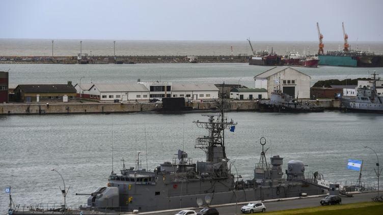 La base militaire de Mar del Plata, en Argentine. (EITAN ABRAMOVICH / AFP)