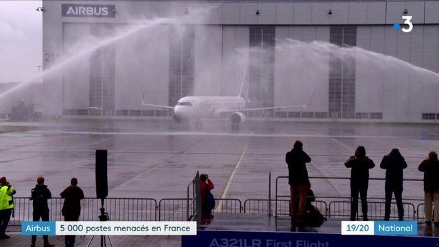 Airbus : 5 000 postes menacés en France