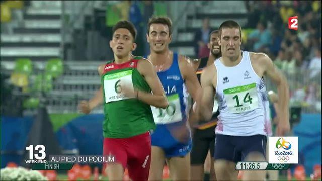 JO 2016 : les Français au pied du podium