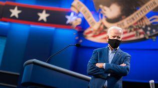 Le candidat démocrate à l'élection présidentielle américaine, Joe Biden, le 29 septembre 2020, lors du premier débat à Cleveland, dans l'Ohio. (EYEPRESS NEWS / AFP)