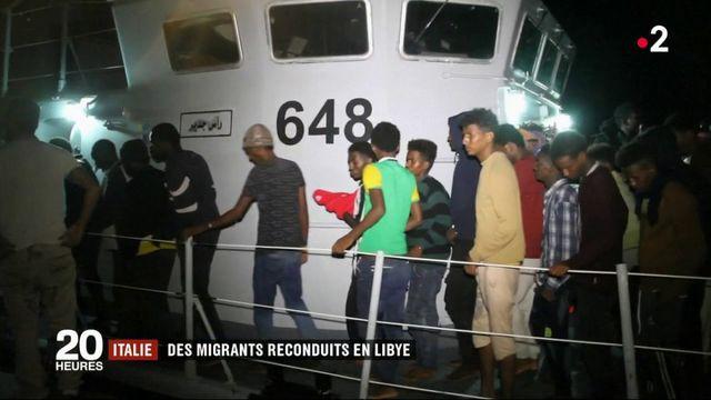 Italie : des migrants reconduits en Libye
