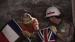 Dans le rétro : quand la France et l'Angleterre se rejoignaient sous la Manche (FRANCE 2)