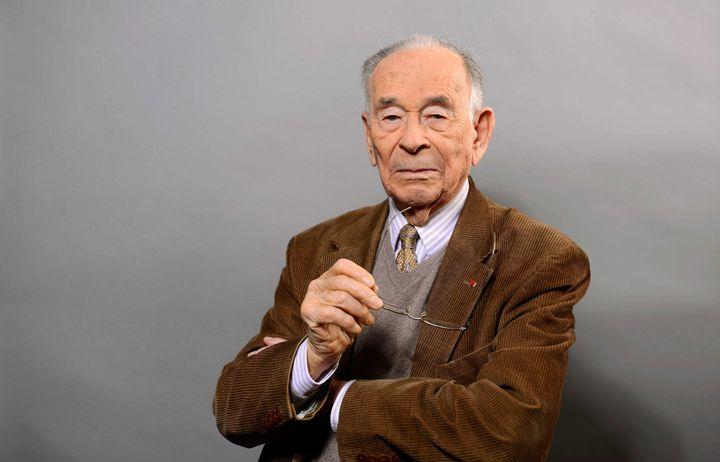 L'historien et grand résistantJean-Louis Cremieux-Brilhac.  (BALTEL/SIPA)