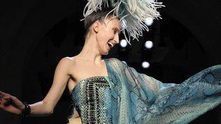Défilé haute couture Jean Paul Gaultier, printemps-été 2015  (DPA/MAXPPP)