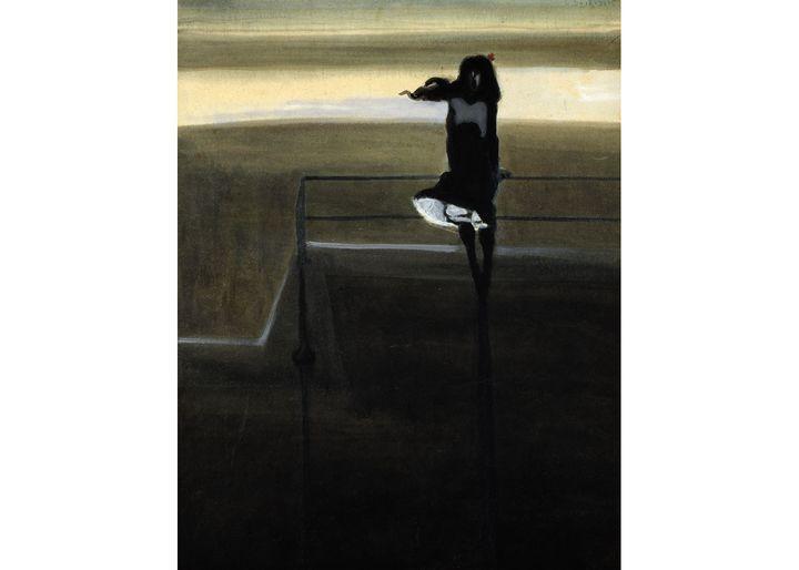 "Léon Spilliaert, ""Le Coup de vent"", 1904, Collection Mu.ZEE, Oostende (© Mu.ZEE, Steven Decroos, 2017)"