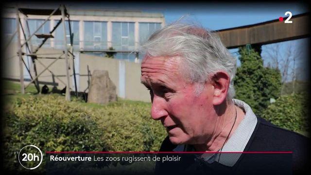 Zoos : les visiteurs heureux de retrouver les animaux