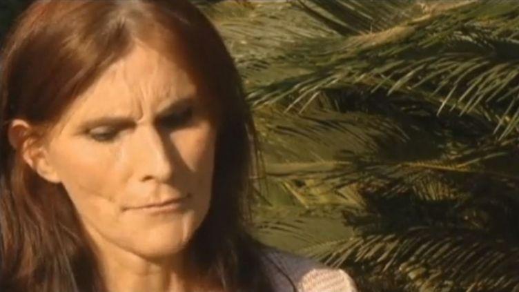Cindy Lee Garcia, une actrice californienne qui apparaît dans la vidéo anti-islam à l'origine de violentes manifestations dans le monde arabe, affirme avoir été trompée sur la véritable nature du film, le 12 septembre 2012. (FTVI / EVN / CBS)