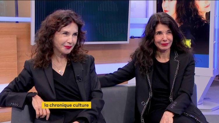 Katia et Marielle Labèque (FRANCEINFO)