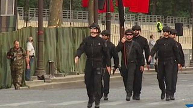 14-juillet : les hommes de l'ombre défileront pour la première fois
