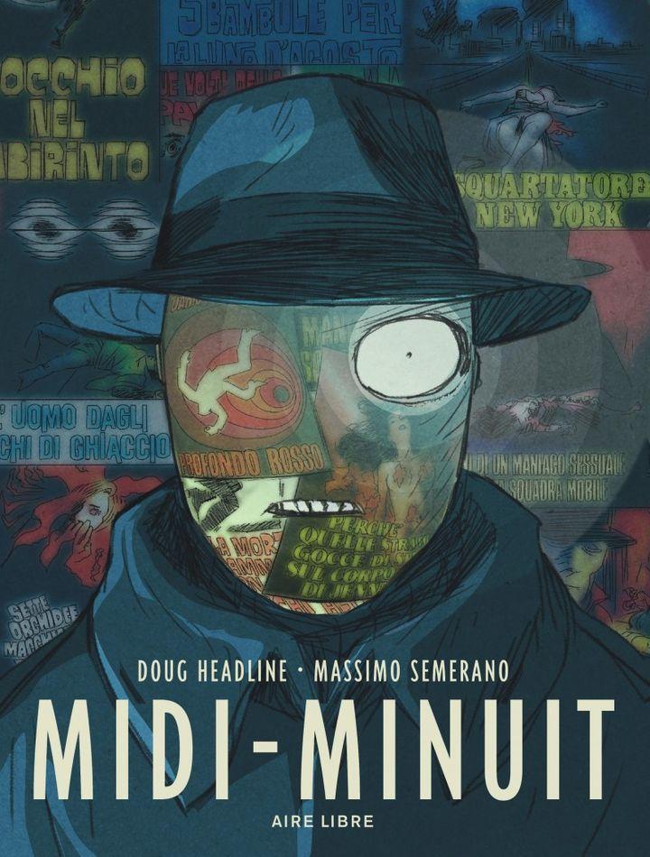 """""""Midi-Minuit"""" (BD) : 1re de couverture  (Aire Libre / Dupuis)"""