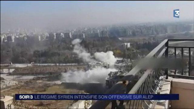 Syrie : Alep bientôt reprise par l'armée ?