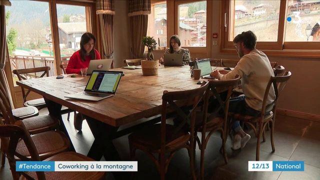 Haute-Savoie : un espace de coworking en pleine montagne