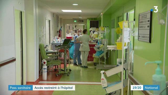 Pass sanitaire : bientôt obligatoire pour entrer à l'hôpital