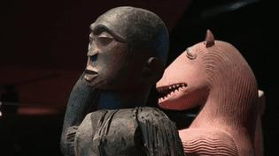 Œuvres africaines du musée du Quay Branly  (France 2 Culturebox capture d'écran)
