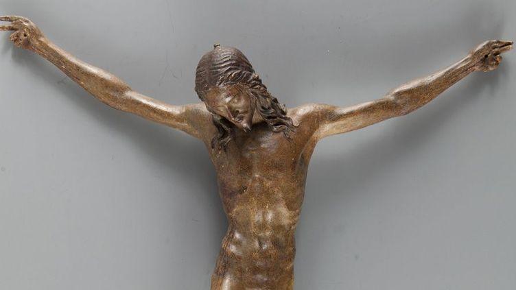 Christ en croix (détail) Artiste florentin autour de 1500, Michel-Ange ? Musée du Louvre, département des Sculptures  (2013 Musée du Louvre / Harry Bréjat)