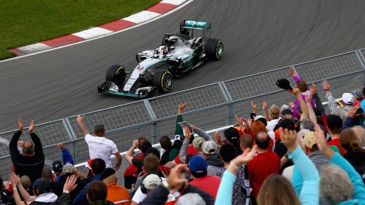 Lewis Hamilton (Mercedes) (CLIVE MASON / GETTY IMAGES NORTH AMERICA)