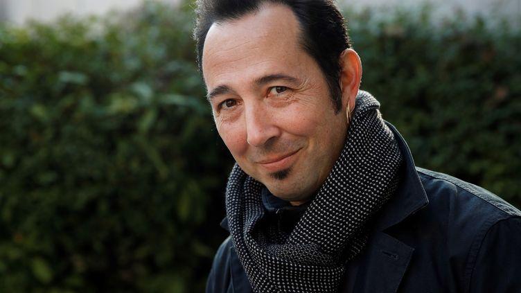 L'écrivainThomas B. Reverdy le 14 novembre 2018 à Paris (YOAN VALAT / EPA / MAXPPP)