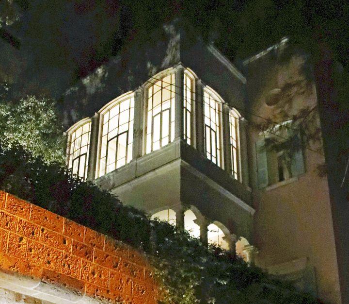 Maison de Carlos Ghosn à Beyrouth (Liban) où il a trouvé refuge depuis le 30 décembre après sa fuite du Japon. (YASUSHI KANEKO / YOMIURI / AFP)