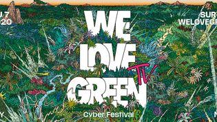 L'affiche du festival We Love Green Online 2020. (WE LOVE GREEN)