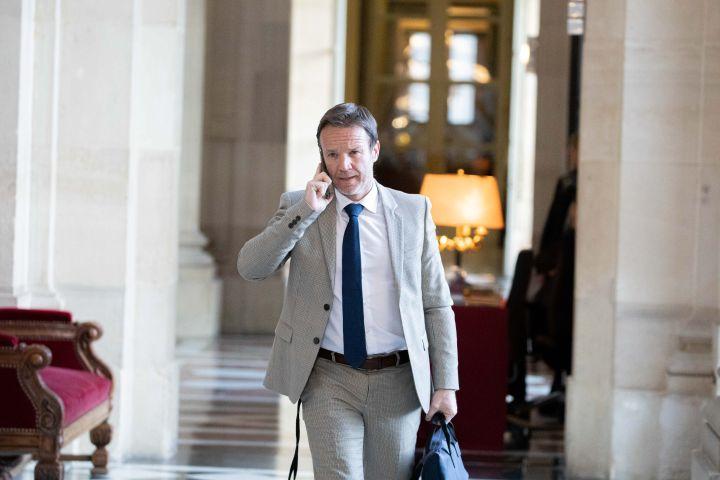 Le député LREM Cédric Roussel à l'Assemblée nationale en 2020. (CHRISTOPHE MORIN / MAXPPP)