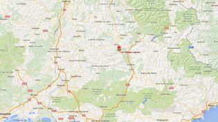 Un homme de 37 ans a agressé une femmeet ses trois filles danslevillage de vacances de Lagand (Hautes-Alpes), le 19 juillet 2016. (GOOGLE MAPS)