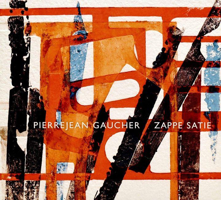 la pochette de l'album 'Zappe satie' (visuel  Julien Allegre)