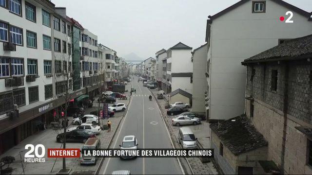 Internet : la bonne fortune des villages chinois
