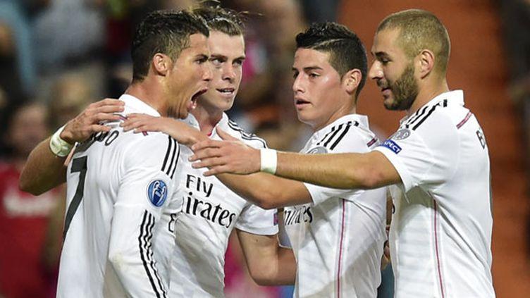 Le quatuor offensif du Real Madrid s'est régalé