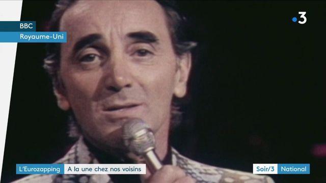 Eurozapping : les télévisions de toute l'Europe salue Charles Aznavour