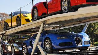 Des voitures de luxe saisies à Paris (Transparency International France )