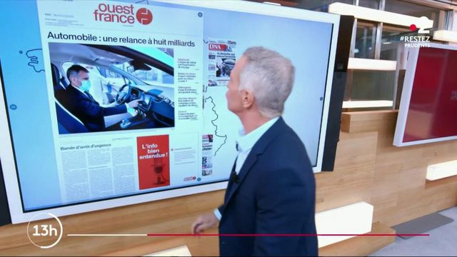 Kiosque à journaux : plan de relance pour l'automobile, fin de l'épidémie ou encore prime Covid-19