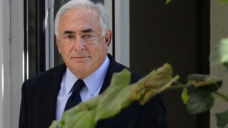 L'ancien patron du FMI, Dominique Strauss-Kahn, le 29 septembre 2011, à Paris. (MIGUEL MEDINA / AFP)