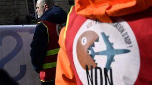 4,7 millions de signatures sont nécessaires pour lancer un référendumd'initiative partagée sur la question de la privatisation d'Aéroports de Paris. (JULIEN MATTIA / LE PICTORIUM / MAXPPP)