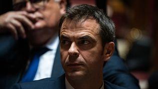 Le nouveau ministre de la Santé Olivier Véran, le 19 février 2020 à Paris. (XOSE BOUZAS / HANS LUCAS / AFP)