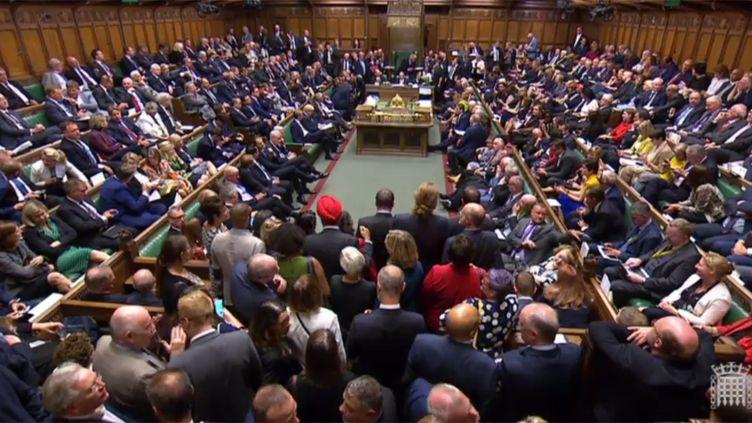 Le Parlment britannique, le 3 septembre 2019. (AFP)