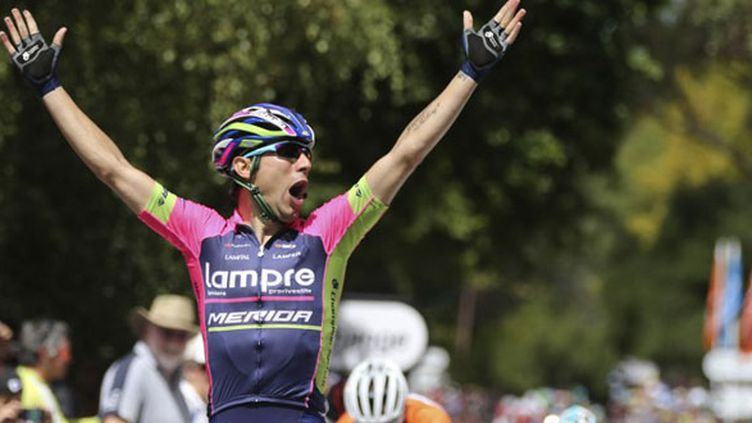 Le cycliste italien Diego Ulissi