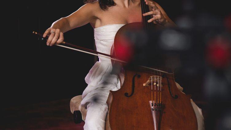 La violoncelliste Astrig Siranossian en 2020. (PAULINE MAILLET)