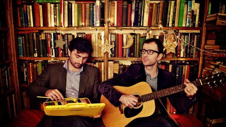 Bertrand et Guillaume Charret alias Yules revisitent Léonard Cohen  (Eva E. Davier)